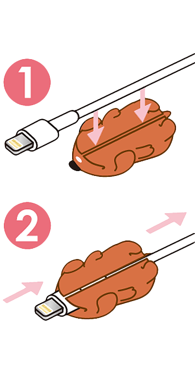 Apple iPad Pro 11 (2018) kábelvédő süni