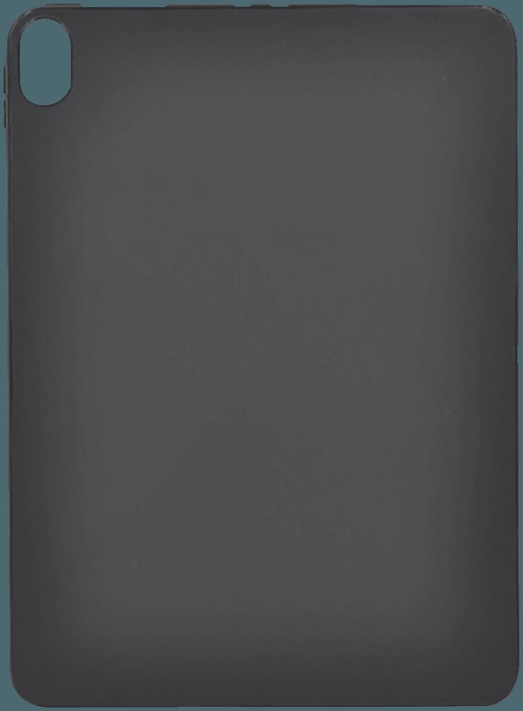 Apple iPad Pro 11 (2018) szilikon tok matt-fényes keret fekete