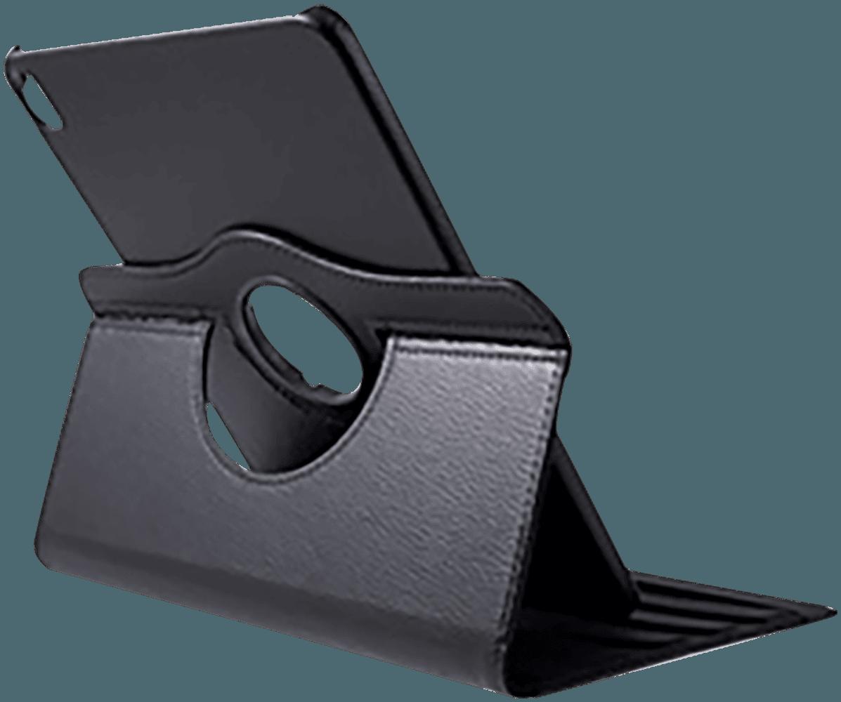 Apple iPad Pro 11 (2018) oldalra nyíló flipes bőrtok 360° ban forgatható fekete