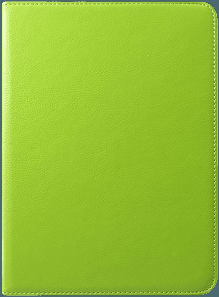 Apple iPad Pro 11 (2018) oldalra nyíló flipes bőrtok 360° ban forgatható zöld