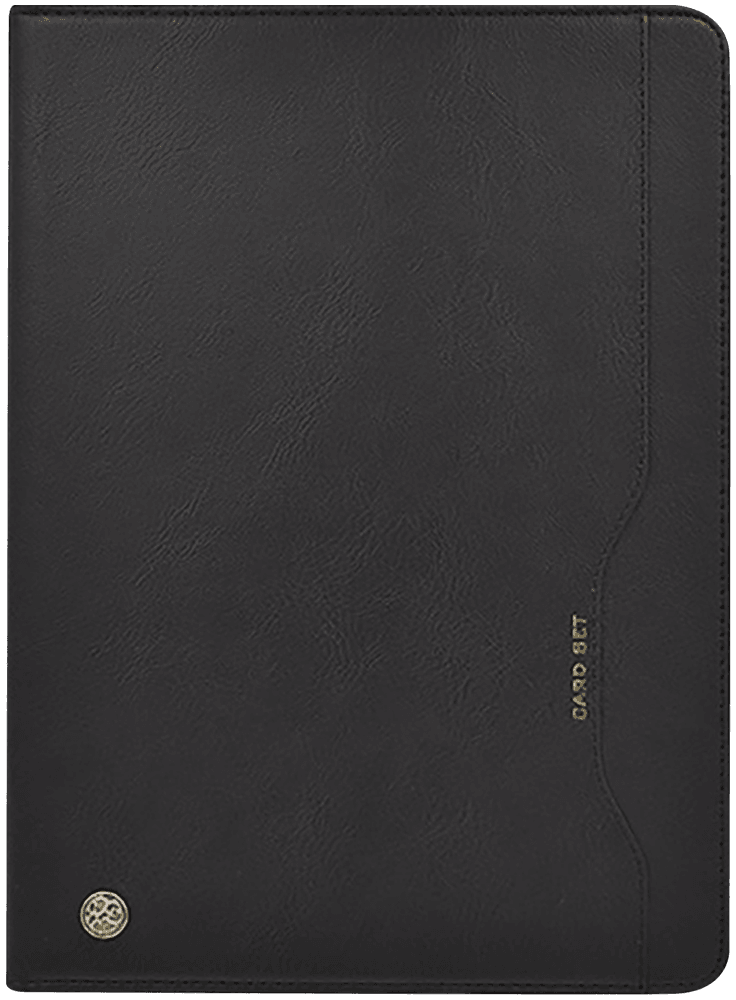 Apple iPad Pro 11 (2018) oldalra nyíló flipes bőrtok asztali tartó funkciós fekete