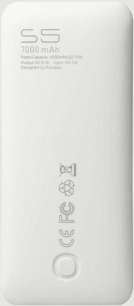 Apple iPhone X power bank - külső akkumulátor 7000 mAh sötétkék