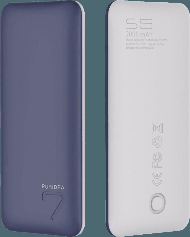 Apple iPhone 5S power bank - külső akkumulátor 7000 mAh sötétkék