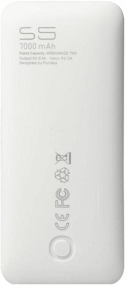 Apple iPhone X power bank - külső akkumulátor 7000 mAh fekete
