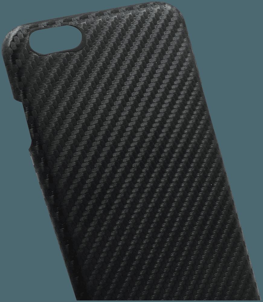 Apple iPhone 6 Plus szilikon tok karbon mintás fekete