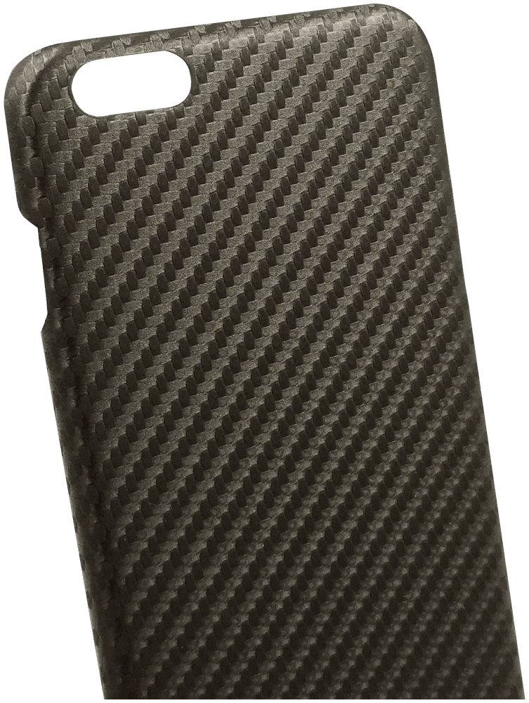Apple iPhone 6 Plus szilikon tok karbon mintás barna