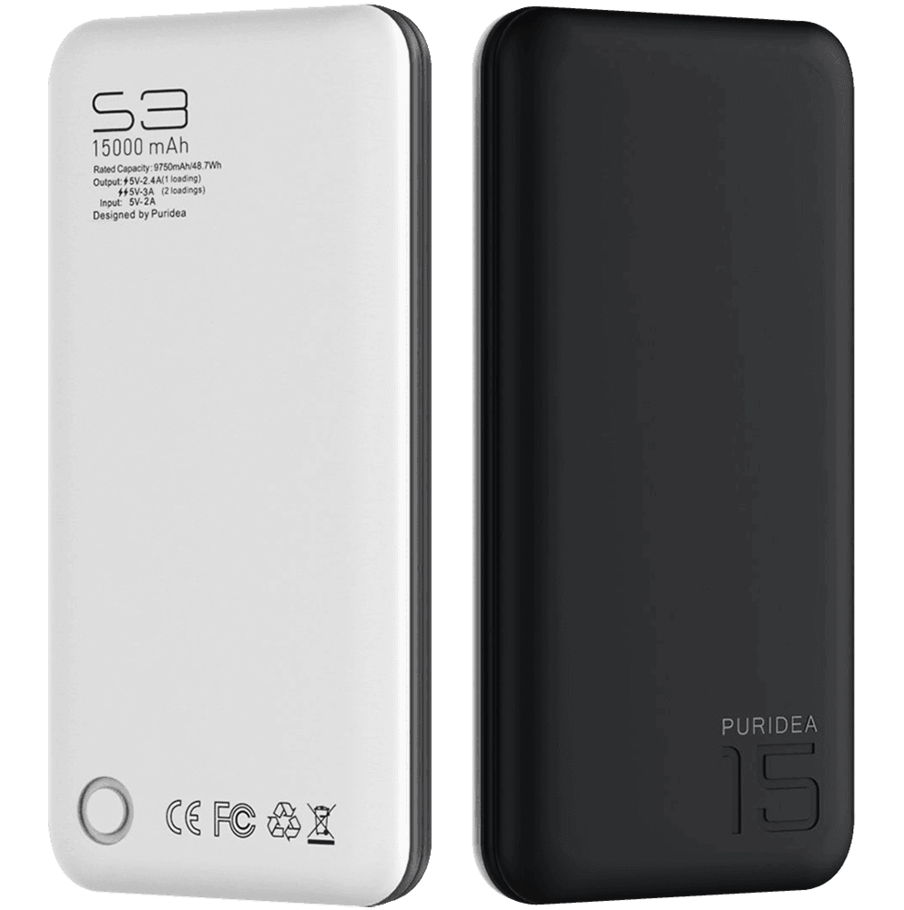 Apple iPhone XR power bank - külső akkumulátor 15000 mAh fekete