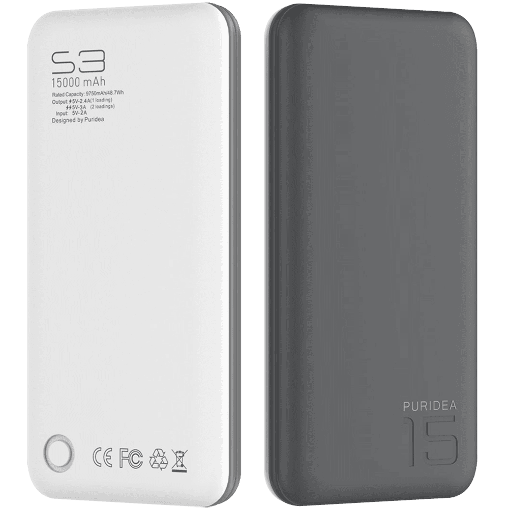 Apple iPhone 11 power bank - külső akkumulátor 15000 mAh szürke