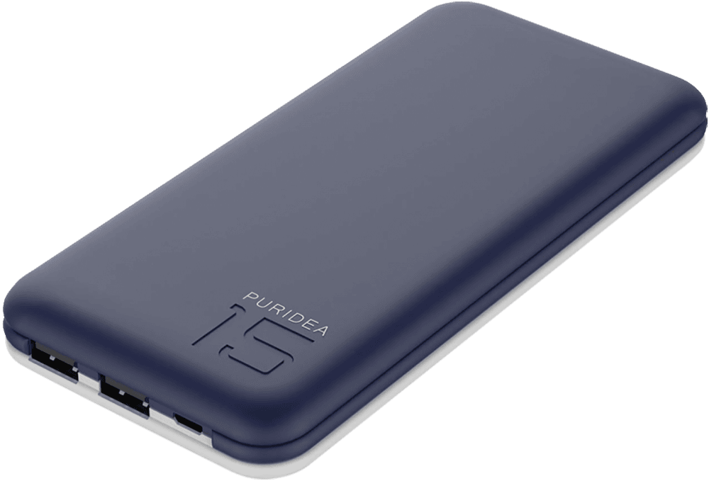 Apple iPhone 8 Plus power bank - külső akkumulátor 15000 mAh sötétkék