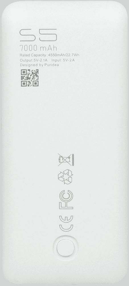 Apple iPhone XS power bank - külső akkumulátor 7000 mAh rózsaszín
