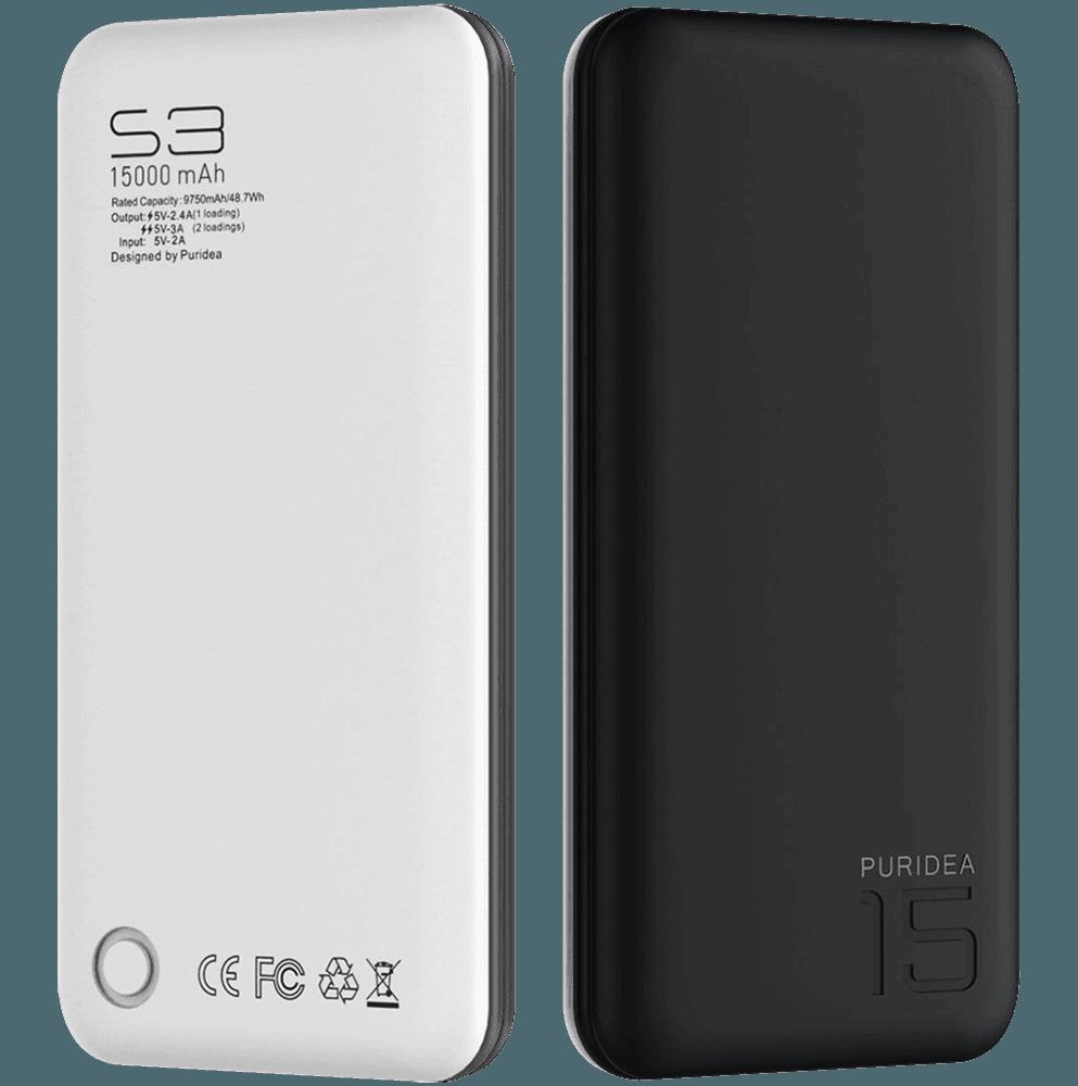 Apple iPhone 6S power bank - külső akkumulátor 15000 mAh fekete