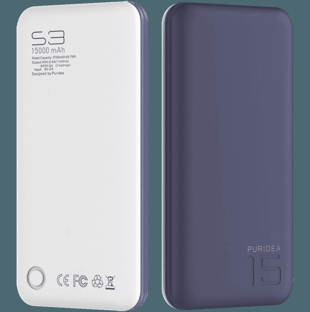 Apple iPhone 6 power bank - külső akkumulátor 15000 mAh sötétkék