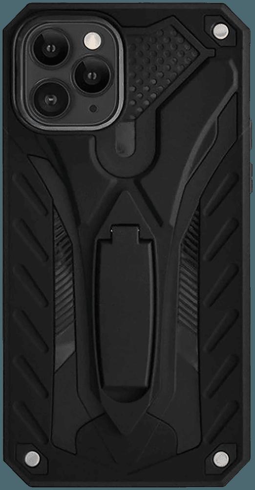 Apple iPhone 11 Pro ütésálló tok kitámasztó fekete