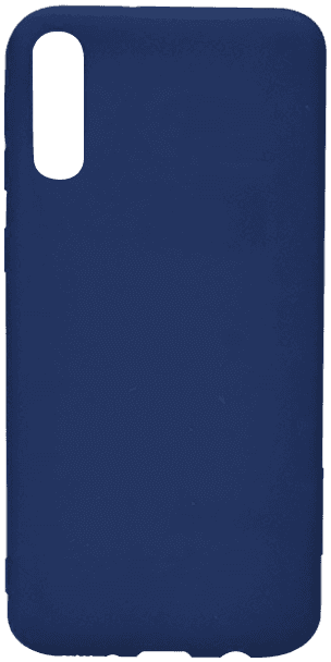 Samsung Galaxy A70 (SM-705) szilikon tok sötétkék