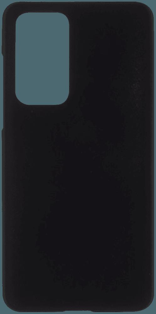 Huawei P40 kemény hátlap gumírozott fekete