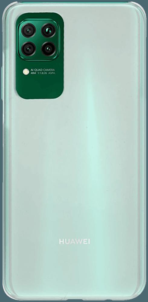 Huawei P40 kemény hátlap gumírozott átlátszó