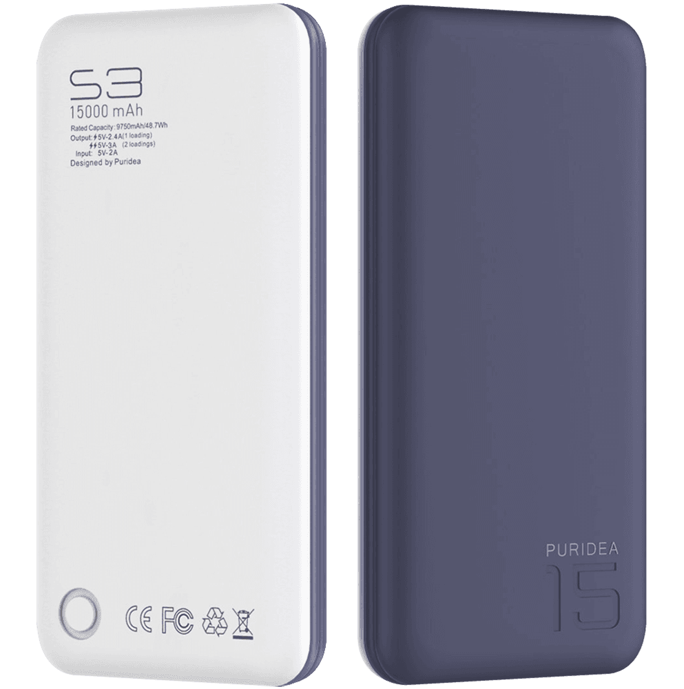 Apple iPhone SE (2020) power bank - külső akkumulátor 15000 mAh sötétkék