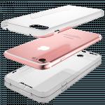 Apple iPhone SE (2020) szilikon tok 360° védelem átlátszó