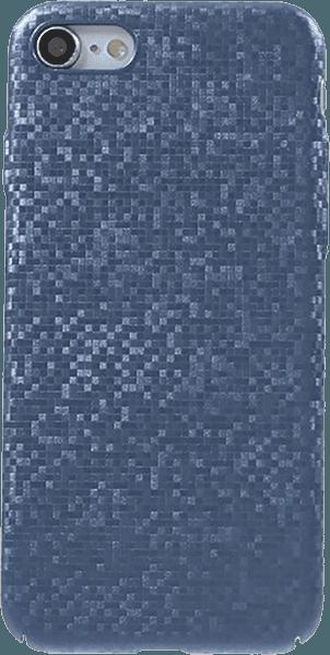 Apple iPhone SE (2020) kemény hátlap csillogó kék