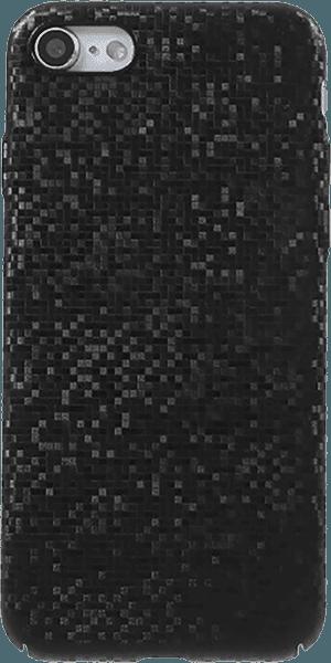 Apple iPhone SE (2020) kemény hátlap csillogó fekete
