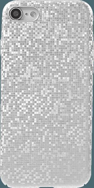 Apple iPhone SE (2020) kemény hátlap csillogó ezüst