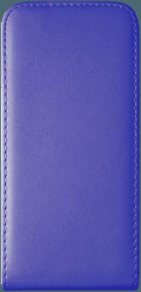 Apple iPhone SE (2020) lenyíló flipes bőrtok kék