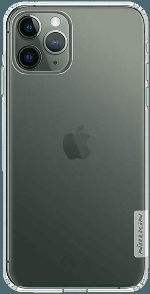 Apple iPhone 11 Pro szilikon tok gyári NILLKIN légpárnás sarok átlátszó
