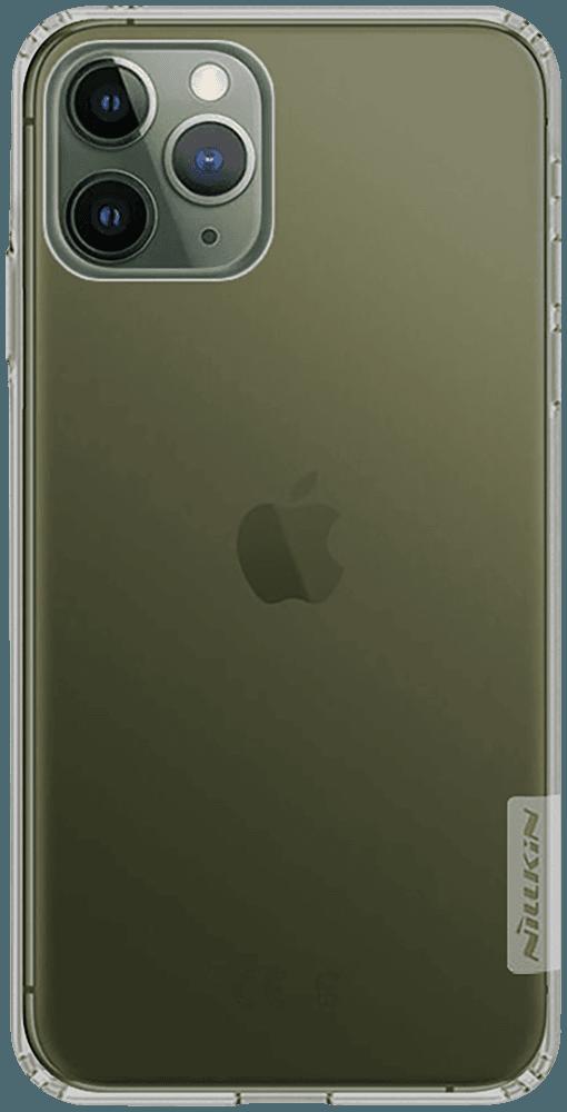 Apple iPhone 11 Pro szilikon tok gyári NILLKIN légpárnás sarok aranybarna