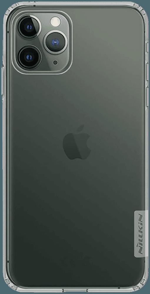 Apple iPhone 11 Pro szilikon tok gyári NILLKIN légpárnás sarok szürke