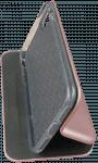 Apple iPhone SE (2020) oldalra nyíló mágneses flipes bőrtok prémium minőség rozéarany