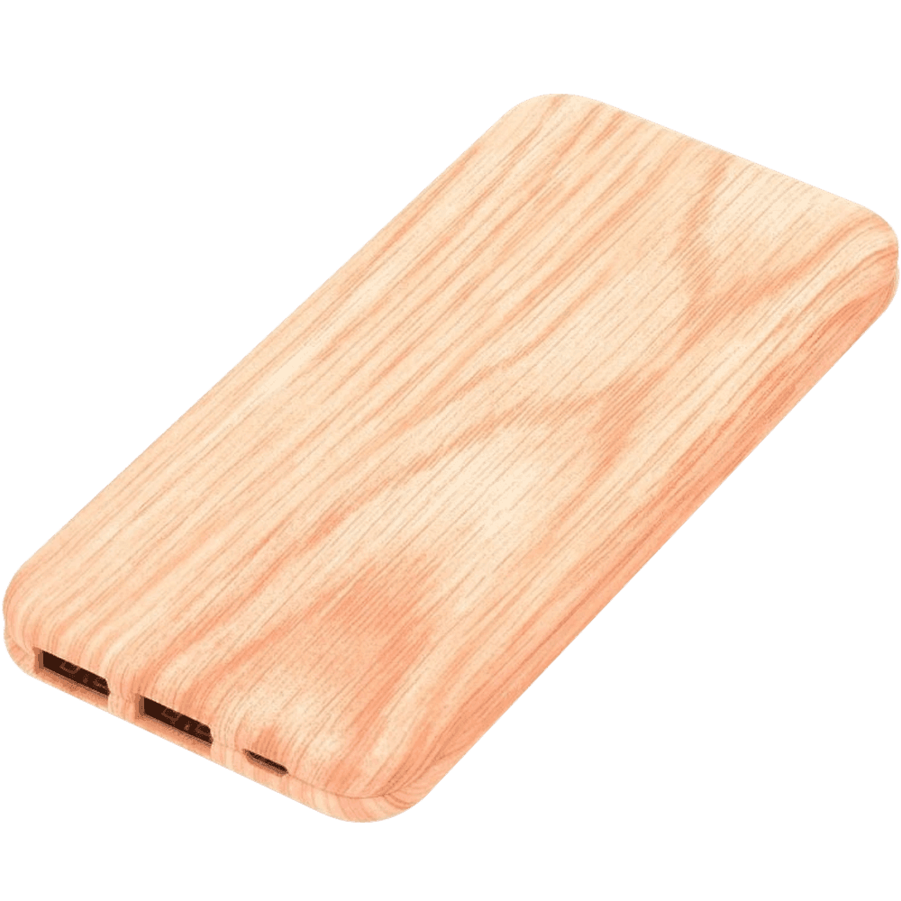 Xiaomi Mi Pad 4 Plus 10.1 power bank - külső akkumulátor 10000 mAh világos faminta