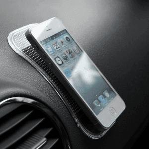 Apple iPhone 12 Mini nanopad univerzális autós tartó fekete