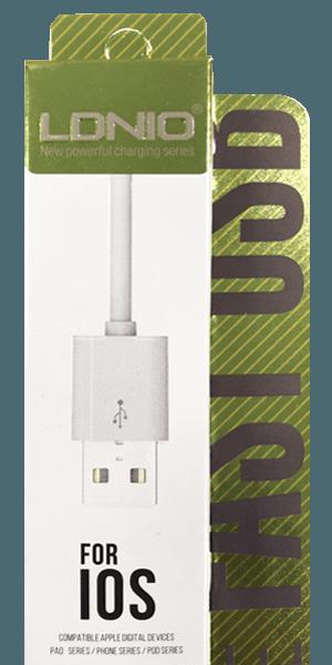 Apple iPhone 12 Mini Prémium Lightning USB adatkábel fehér