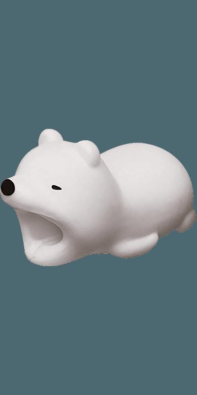 Apple iPhone 12 Pro kábelvédő jegesmaci