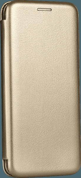 Apple iPhone 12 Pro oldalra nyíló mágneses flipes bőrtok prémium minőség arany
