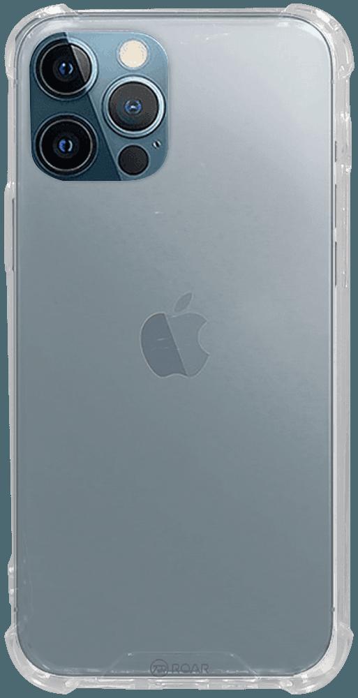 Apple iPhone 12 Pro kemény hátlap gyári ROAR légpárnás sarok átlátszó