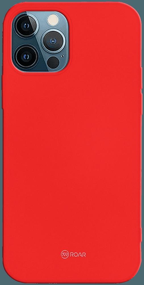 Apple iPhone 12 Pro szilikon tok gyári ROAR piros