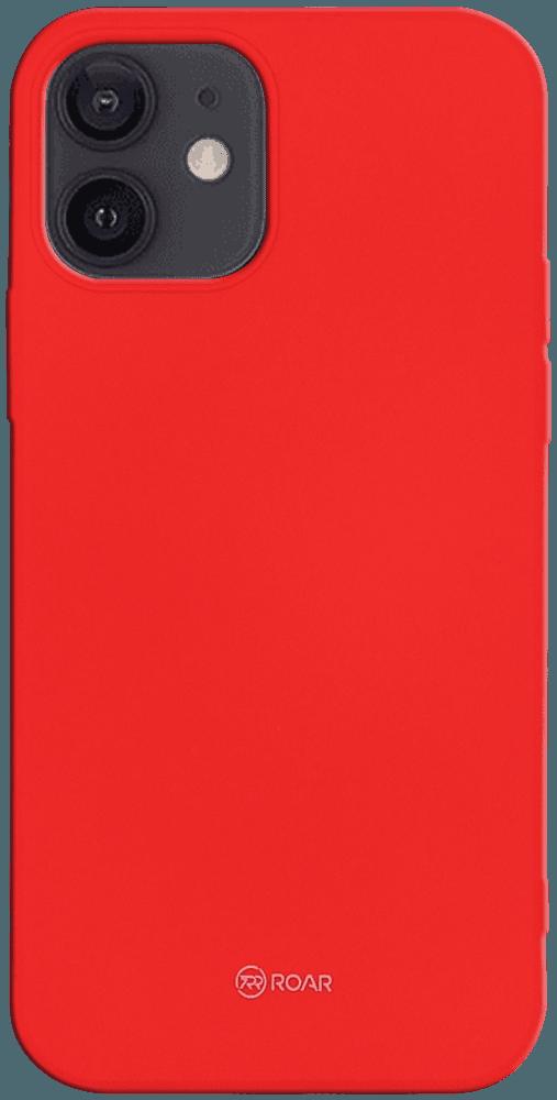 Apple iPhone 12 szilikon tok gyári ROAR piros