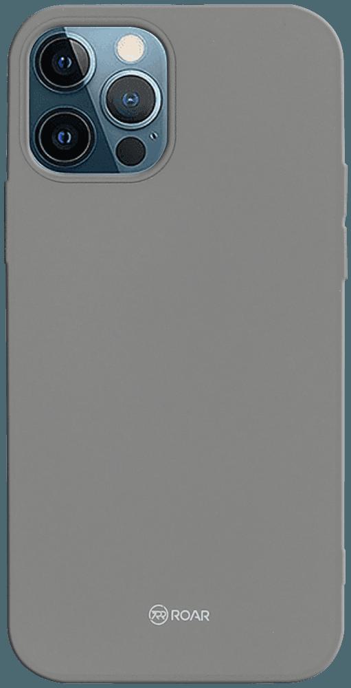 Apple iPhone 12 Pro szilikon tok gyári ROAR szürke