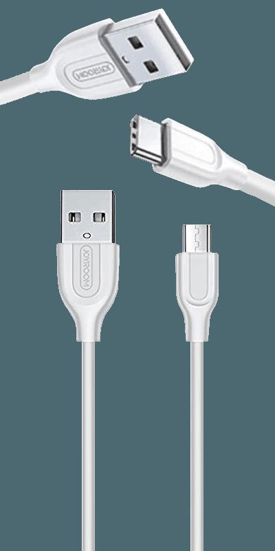 Xiaomi Poco X3 NFC Prémium Type-C gyorstöltő adatkábel fehér