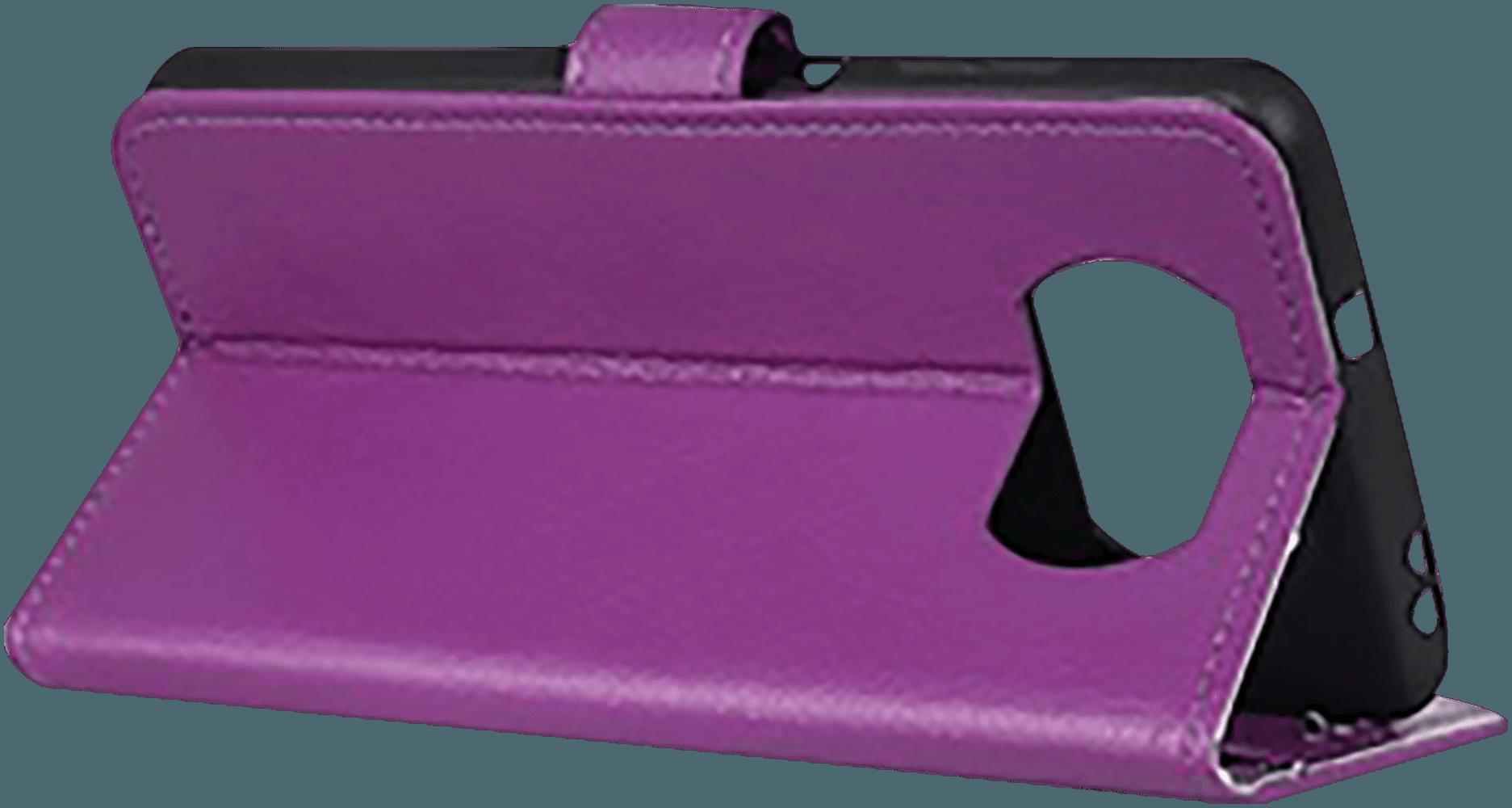 Xiaomi Poco X3 NFC oldalra nyíló flipes bőrtok asztali tartó funkciós lila