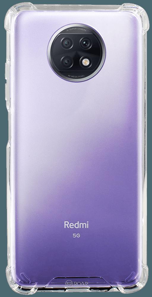Xiaomi Redmi Note 9T kemény hátlap gyári ROAR légpárnás sarok átlátszó