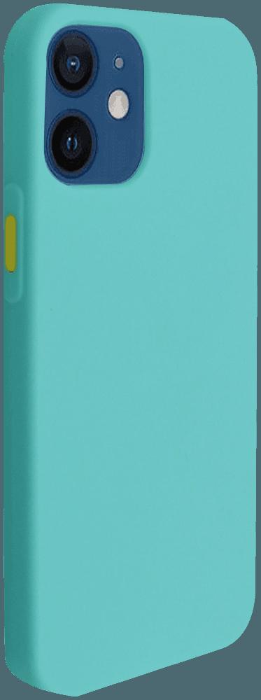 Apple iPhone 12 Mini szilikon tok türkiz