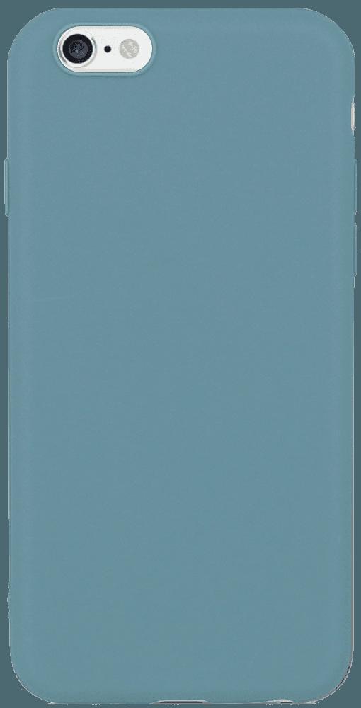 Apple iPhone 6S szilikon tok matt kékesszürke