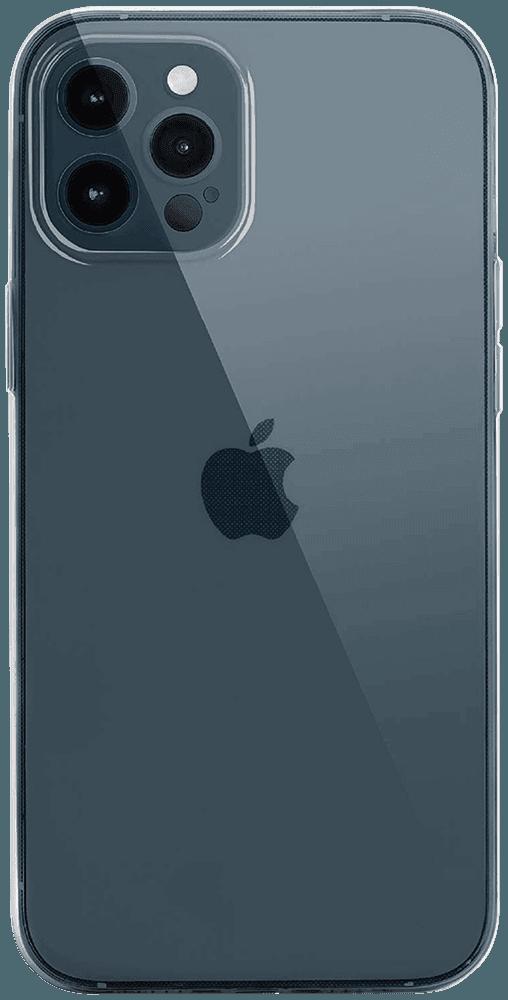 Apple iPhone 12 Pro kemény hátlap szilikon keret átlátszó