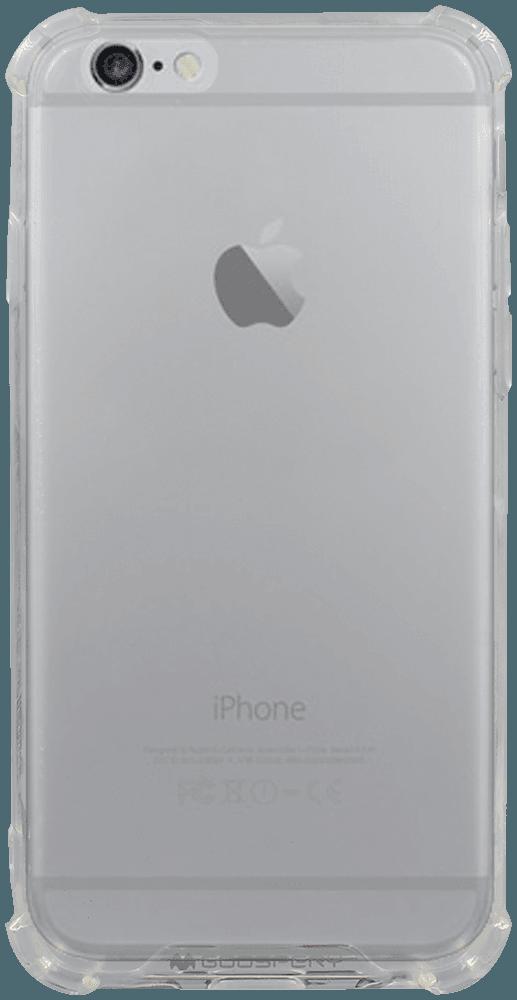 Apple iPhone 6S kemény hátlap szilikon keret gyári MERCURYCASE légpárnás sarok átlátszó