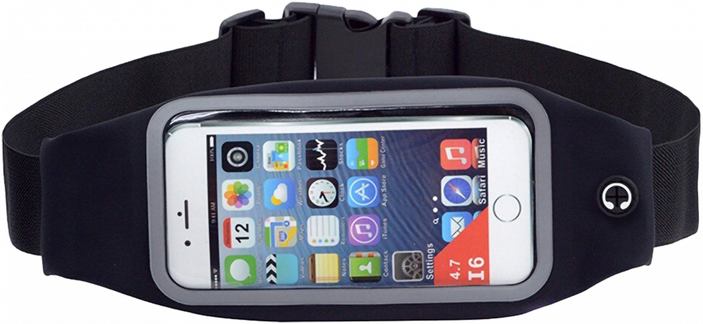 Huawei Y7 (Y7 2017) sport tok vízálló fekete