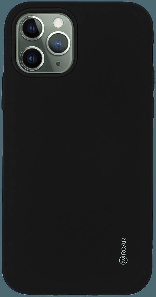 Apple iPhone 11 Pro ütésálló tok gyári ROAR RICO ARMOR matt fekete