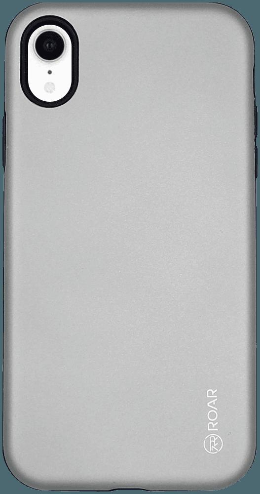 Apple iPhone XR ütésálló tok gyári ROAR RICO ARMOR szürke
