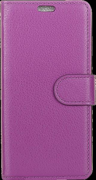 ASUS Zenfone Max Pro (M2) ZB631KL oldalra nyíló flipes bőrtok asztali tartó funkciós lila